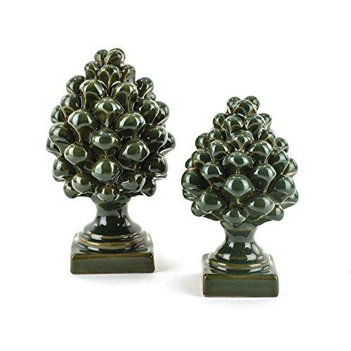 Zoom IMG-1 pigne decorative in ceramica artistica