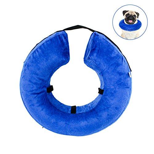 AimdonR Schützendes aufblasbares Halsband für Hunde und Katzen Um zu verhindern,dass nach einer Operation die Haustiere die Nähte berühren