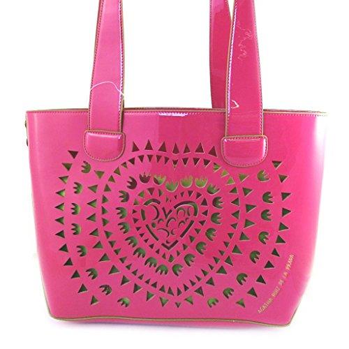 Agatha Ruiz de la Prada M4795 - Sac créateur rose vert