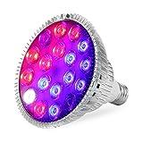 LED Pflanzenlampe 54W E27 Pflanze Lampe Volles Spektrum With UV IR-Beleuchtung für Indoor-Pflanze Hydroponik Veg Blüte wachsen