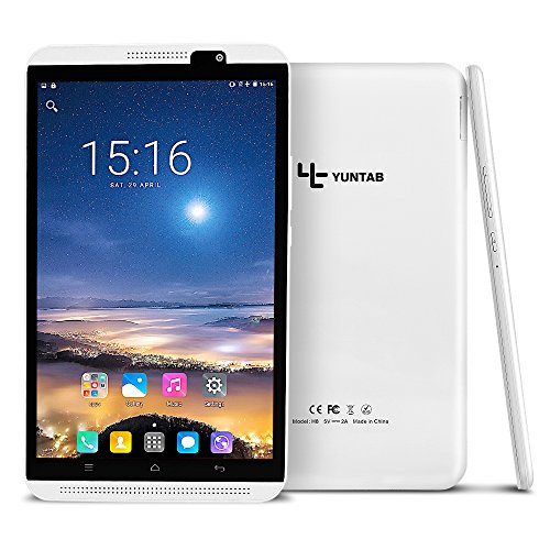 Yuntab H8 PhonePAD 4G Lte Tablet PC, Display da 8...