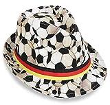 KarnevalsTeufel Trilby Fußball FAN Hut Fanartikel