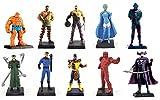 Générique Lot de 10 Figurines de Collection Heros Marvel - EAGLEMOSS Comic Book Heroes