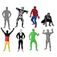 Original-FUNSUIT-Ganzkrperanzug-Anzug-Kostm-Gr-S-M-L-XL-XXL-versch-Muster Funsuits Original Leuchtskelett für Kinder Ganzkörperanzug Anzug Kostüm Gr. Kids S / Kids M / Kids L [Kids S] -