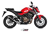 Mivv H.062.LXB HONDA CB 500 F 2016 AUSPUFF SLIP-ON EXHAUST GP STEEL BLACK