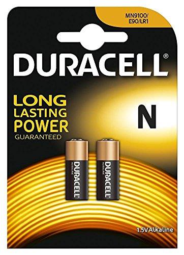 DURACELL MN9100N Alkaline-Batterie für Kameras, Rechner oder Pager, 1,5V, 81223600[Pack 2]