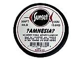 Jenzi Sunset Amnesia/Zero-Twist - 100 m (klar) (Tragkraft 30 lbs - 13.6 kg)