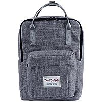 HotStyle Bestie Zaino 18L - Daypack 2 modi Portabile Impermeabile per Laptop 14