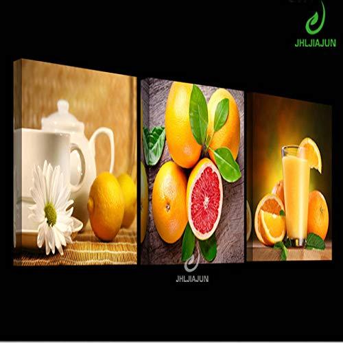 zgmtj Obst Bilder Leinwand Home Decor Poster und drucken modulare Bilder Gemälde für die Küche Hd Print Cuadros Decoracion