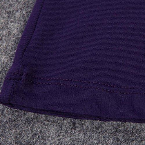 Chemise sous-vêtement à encolure dégagée Ultra Mince pour femmes 1 Piece Violet