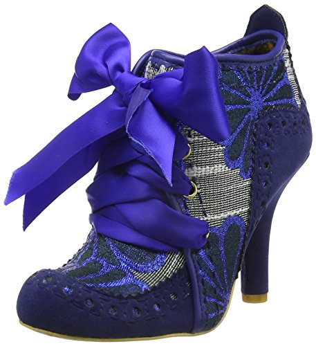 Irregular ChoiceAbigails Third Party, Scarpe con Tacco Donna Blue (Blue/Silver)