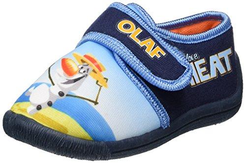 Die Eiskönigin Jungen Fz003883 Pantoffeln Blau (White/Blue)
