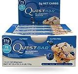 Quest Blueberry Muffin Protein Bar 21 G ...