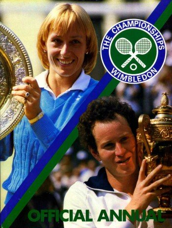 Championships: Wimbledon Official Annual 1984