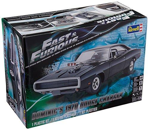 Revell- Dominic\'S \'70 Dodge Charger,Escala 1:25 Kit de Modelos de plástico, (14319)