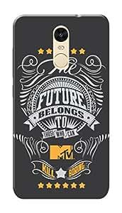 MTV Gone Case Mobile Cover for Xiaomi Redmi Note 4