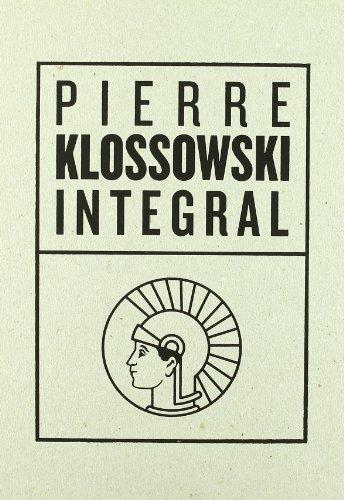 Estuche Integral +Cartas A Betty por Pierre Klossowski