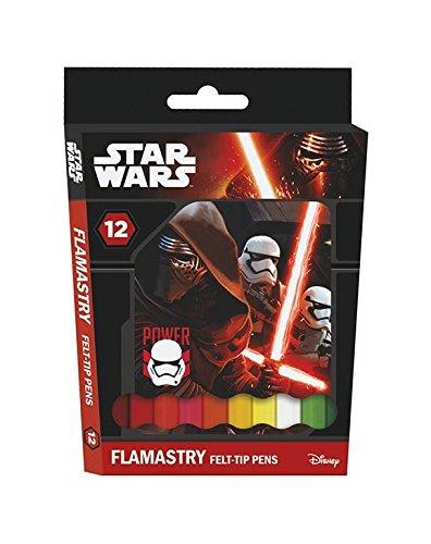 Flamastry 12 kolorów Star Wars