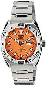 Seiko 5 Sports Analog Orange Dial Men's Watch - SRP283K1