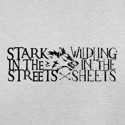 Stark In The Streets - Herren T-Shirt - 13 Farben Hellgrau