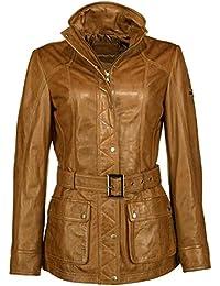 online store a05bc 6486f Suchergebnis auf Amazon.de für: Lederjacke mit Gürtel ...