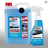 SONAX AntiFrost & KlarSicht Scheibenreiniger 5L Scheibenenteiser 500ml