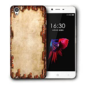Snoogg Broken Wall Design Printed Protective Phone Back Case Cover For OnePlus X / 1+X