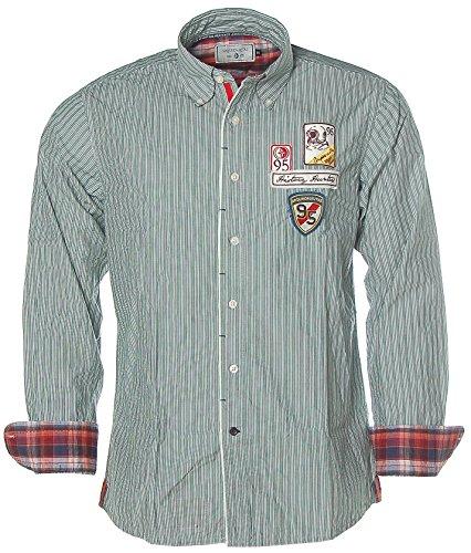 ARQUEONAUTAS -  Camicia Casual  - Maniche lunghe  - Uomo Verde