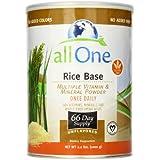 All One Nutritech - Rice Base Multivitamines et Mineraux en poudre sans gout 2.2 lbs
