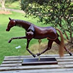 Earlywish Horse Mannequin Wood Model Animal Mannikin Art Drawing Sketch Figure Statue