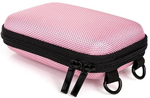 Baxxtar hardcase pure pink -- taglia s borsa fotocamera universale (con tracolla e passante per cintura) colore: rosa (appaiamento: vedi caratteristiche del prodotto)
