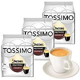 Tassimo T-Discs Jacobs Espresso, 3er Pack + Original Espresso-Tasse& Untertasse von Könitz