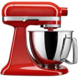 KitchenAid Artisan Mini 3.5 Quart Tilt-Head Stand Mixer, Hot Sauce (KSM3316XHT)