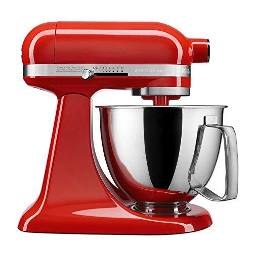 KitchenAid Artisan Mini 3.5 Quart Tilt-Head Stand Mixer, Hot Sauce (KSM3316XHT)
