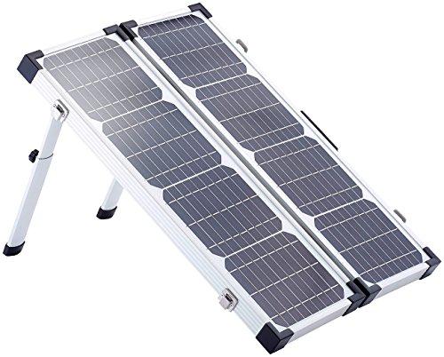 revolt Solarzelle: Klappbares Solarpanel PHO-4000 mit Tasche, 40 W (Solar Camping)