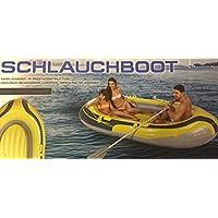 A Schlauchboot Boot Paddelboot Familienboot