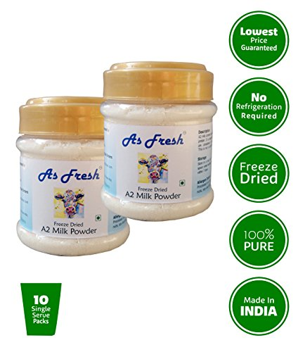 As Fresh Dried A2 Cow Milk Powder (2 x 100 g)
