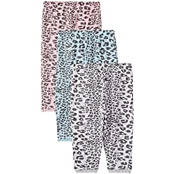 Day 2 Day Baby Girls' Leggings (263971386_Multi colored_03M)(Pack of 3)