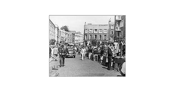 Amazon.de: Fotodruck Portobello Markt/1960er