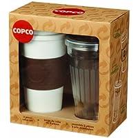 Copco 2510-0281 2-Piece To Go Set Acadia Travel Mug and Sierra Tumbler by Copco