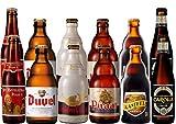 Belgische Starkbier Paket: 12 x 33cl (6 x 2 Bierflaschen von St. Bernardus Prior, Duvel, Gulden Draak, Piraat, Kasteel, Gouden Carolus Triple) Männer, Geschenk, Abend, Geburtstagsgeschenk