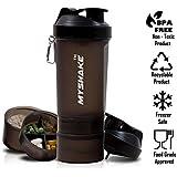My Shake Smart Shaker Bottle - 600ml-Black