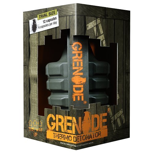 Grenade Thermo Detonator Weight Management Supplement - Tub of 100 Capsules Test