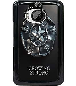 ColourCraft Amazing Warrior Symbol Design Back Case Cover for HTC ONE M9 PLUS