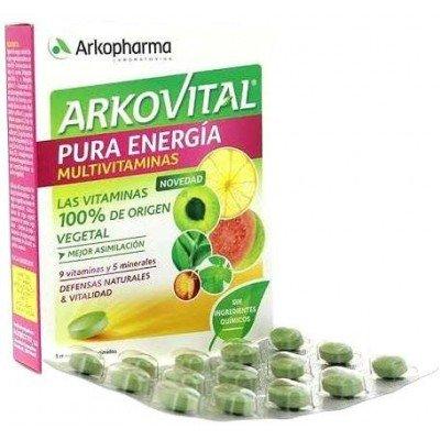 Arkopharma - ARKOVITAL PURA ENERGIA MULTIVITAMINAS