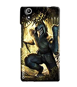 Omnam Wolverine Printed Designer Back Cover Case For Micromax Selfie 2