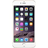 "Apple iPhone 6 - Smartphone libre iOS (pantalla 4.7"", cámara 8 Mp, 16 GB, Dual-Core 1.4 GHz, 1 GB RAM), Dorado - (Reacondicionado Certificado) [Incluye enchufe europeo]"