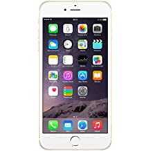 "Apple iPhone 6 - Smartphone - Display 4.7"" (dual-core 1.4 GHz, 1GB di RAM, 16 GB Memoria interna, 8 MP fotocamera, iOS), Oro - (Ricondizionato Certificato) [include spina europea]"