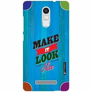 Printland Back Cover For Xiaomi Redmi Note 3 - Make It Look Designer Cases
