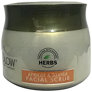 Oxyglow Apricot and Jojoba Facial Scrub, 200g